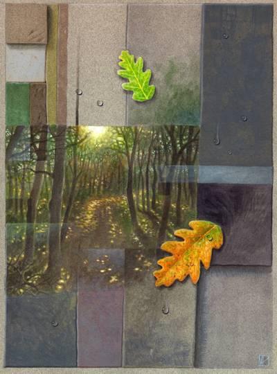 Return (Xosé Luís Méndez Ferrín) / Acrylic / 250x325 mm.