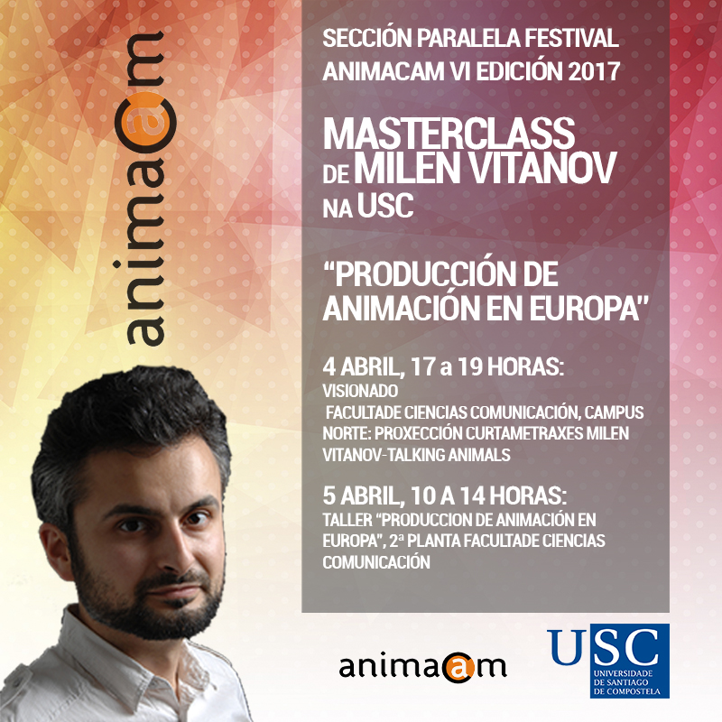 "PARALLEL SECTION ANIMACAM FESTIVAL MASTERCLASS ""ANIMATION PRODUCTION IN EUROPE"""