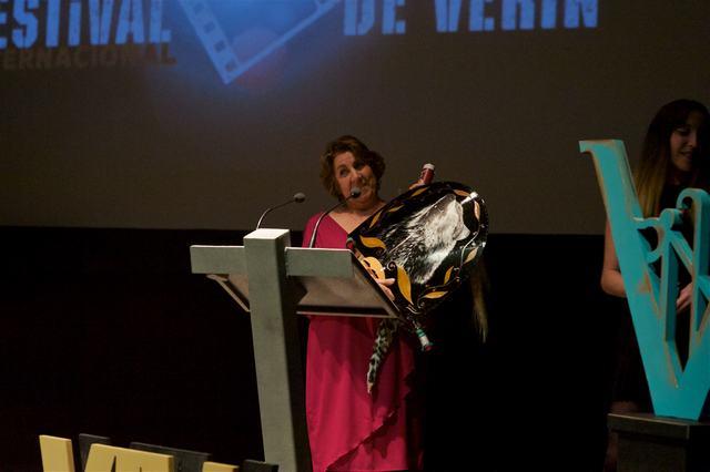 El film GRANDMA'S HERO, de Ben Ozeri y Corentin Monnier, ganador del Premio del Público, Festival Invitado Animacam, en FICVERIN 2018.